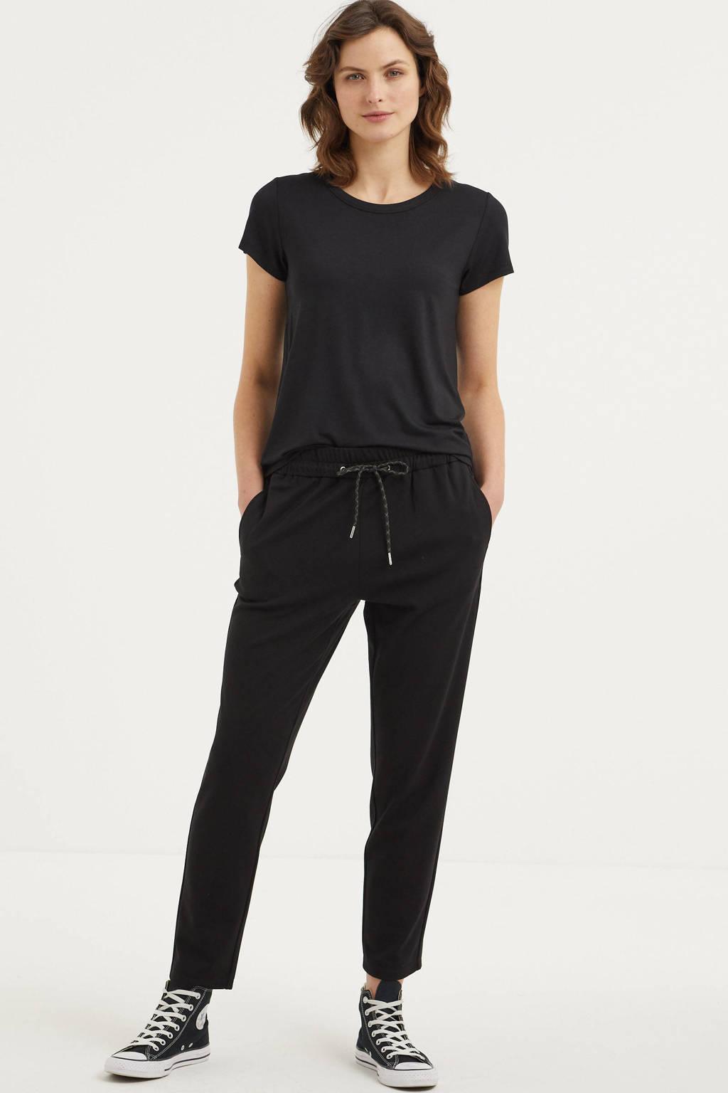 Part Two T-shirt zwart, Zwart