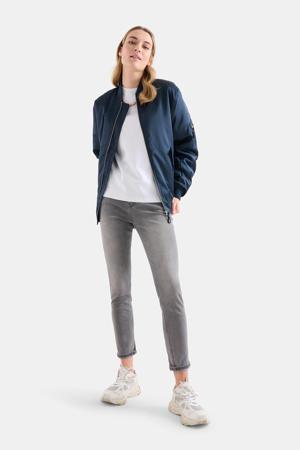 skinny jeans Ametist L28 lichtgrijs