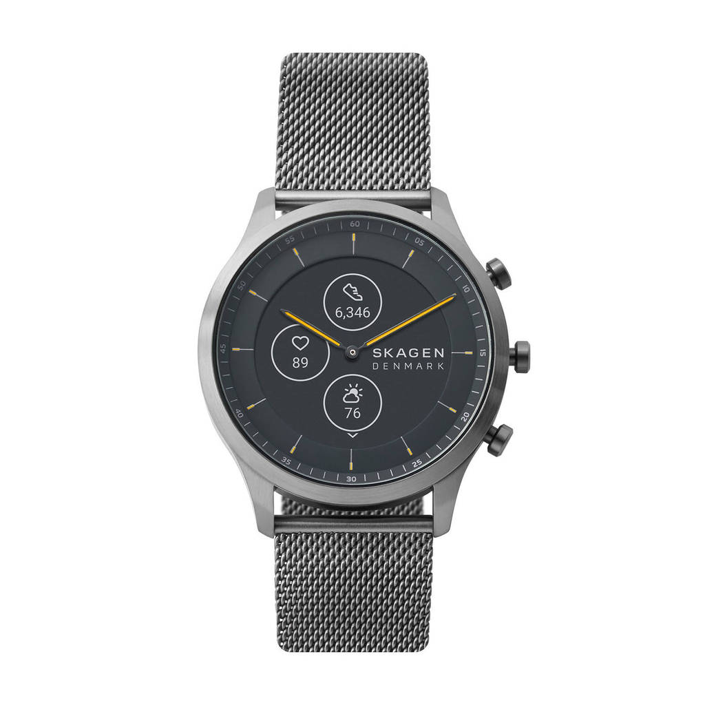 Skagen Connected Jorn 42mm Heren Hybrid HR Smartwatch SKT3002, Grijs