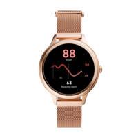 Fossil Gen 5E Dames Display Smartwatch FTW6068, Rosé