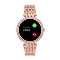 Michael Kors Darci Gen 5E Dames Display Smartwatch MKT5128, Rosé