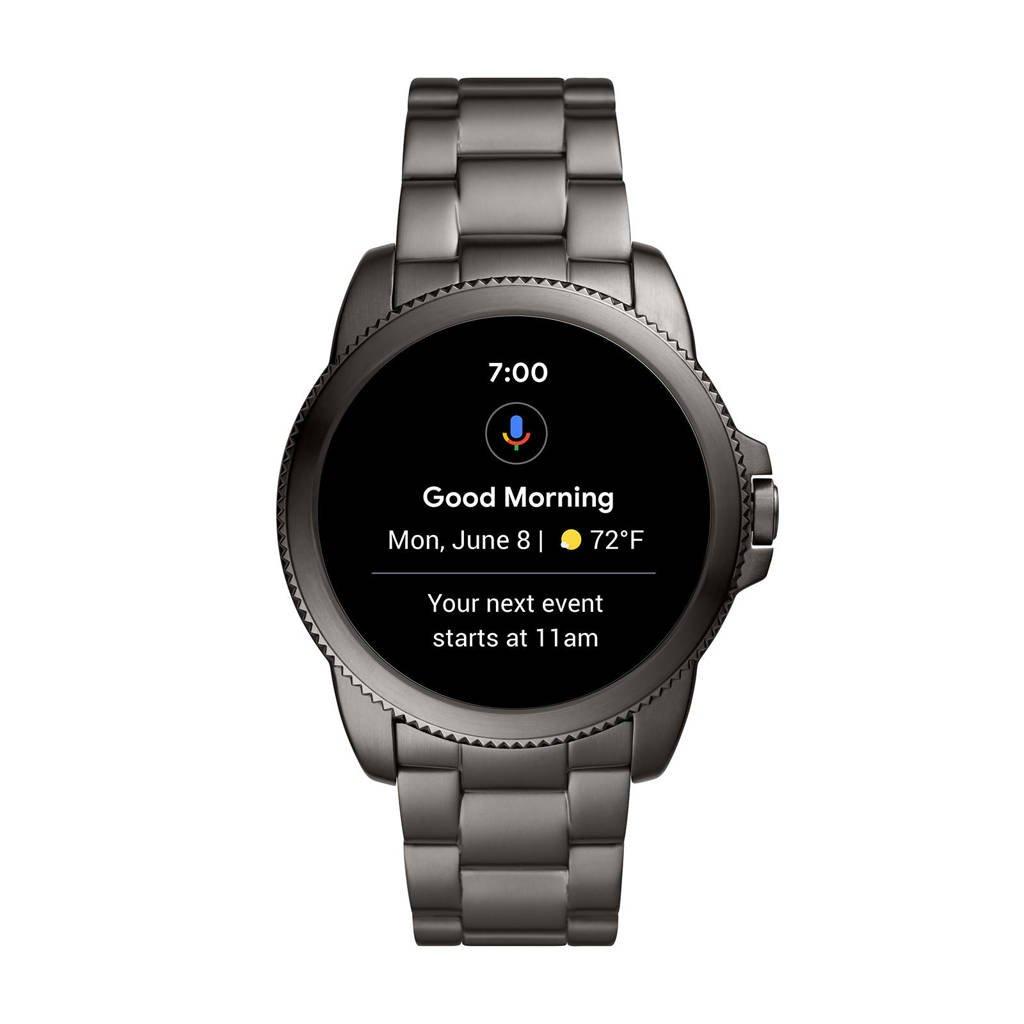 Fossil Gen 5E Heren Display Smartwatch FTW4049, Grijs
