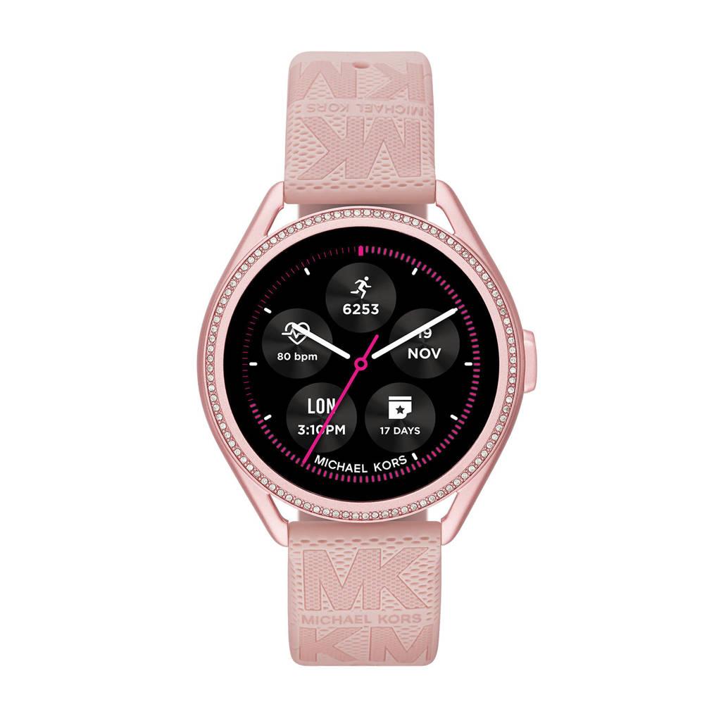 Michael Kors MKGO Gen 5E Dames Display Smartwatch MKT5116, Roze