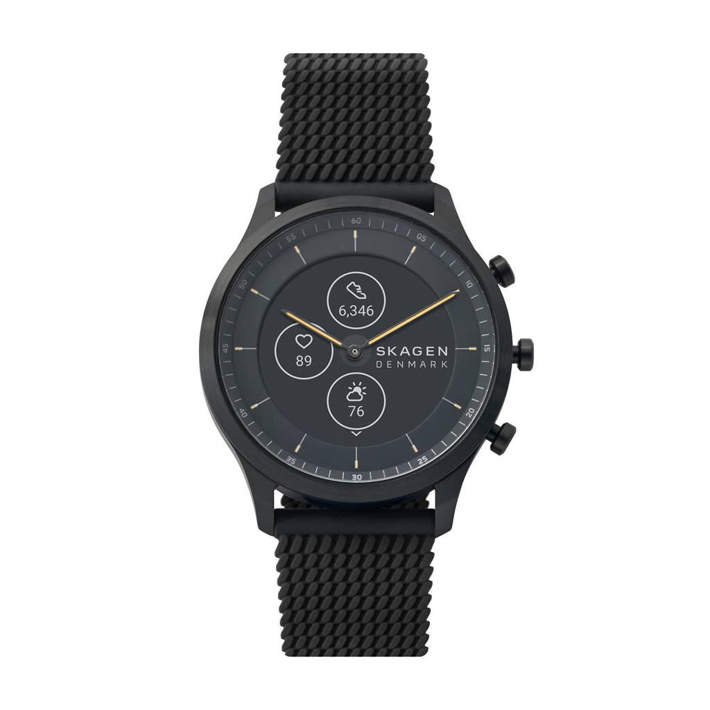 Skagen Connected Jorn 42mm Heren Hybrid HR Smartwatch SKT3001, Zwart