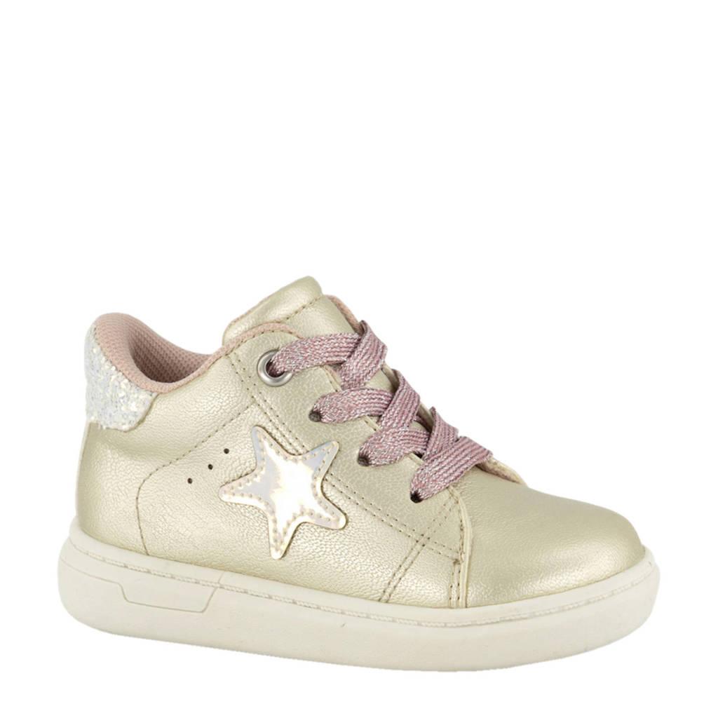 Cupcake Couture   hoge sneakers goud, Goud