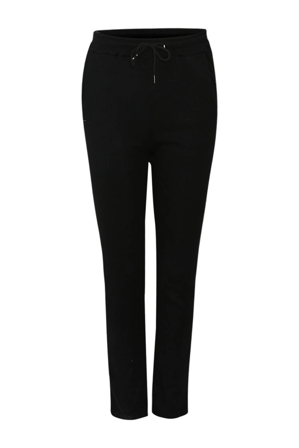 Paprika slim fit joggingbroek zwart, Zwart