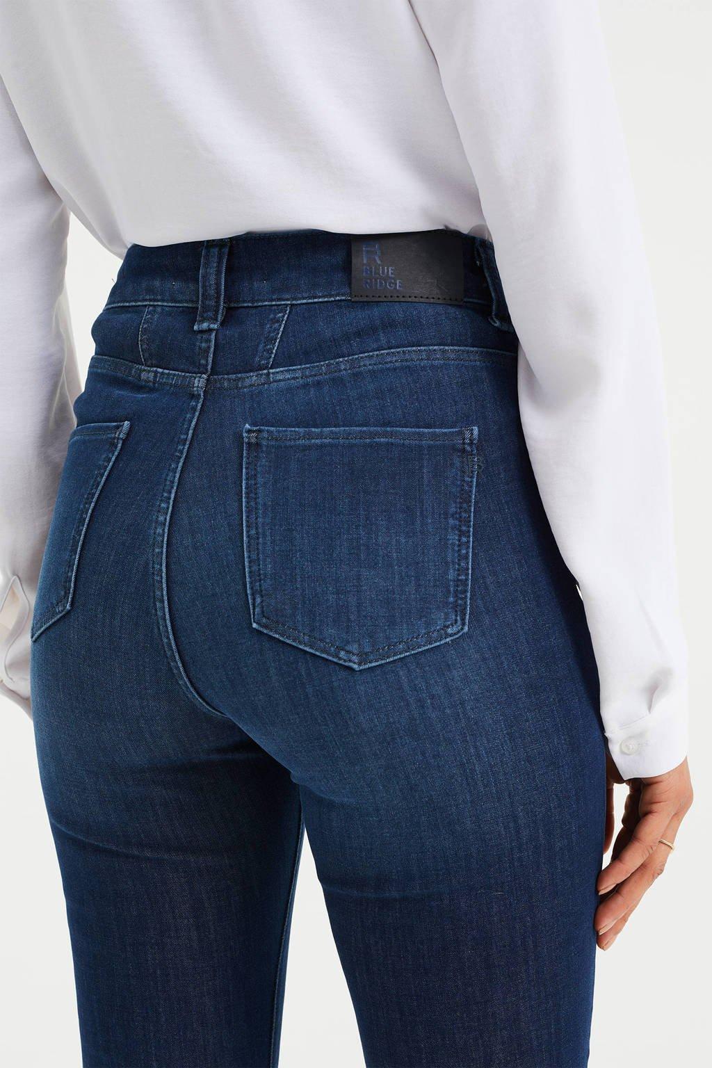 WE Fashion Blue Ridge skinny jeans dark blue, Dark Blue