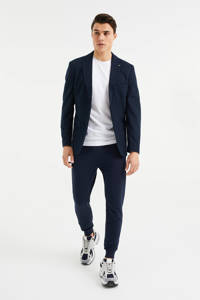 WE Fashion slim fit joggingbroek heavy blue, Heavy Blue