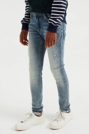 skinny jeans vintage blue