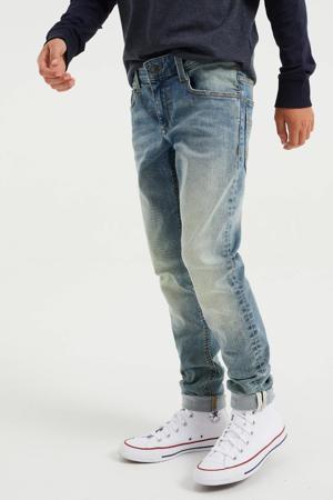 tapered fit jeans vintage blue