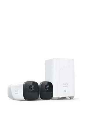 Eufycam 2 Pro beveiligingscamera 2-in-1 kit