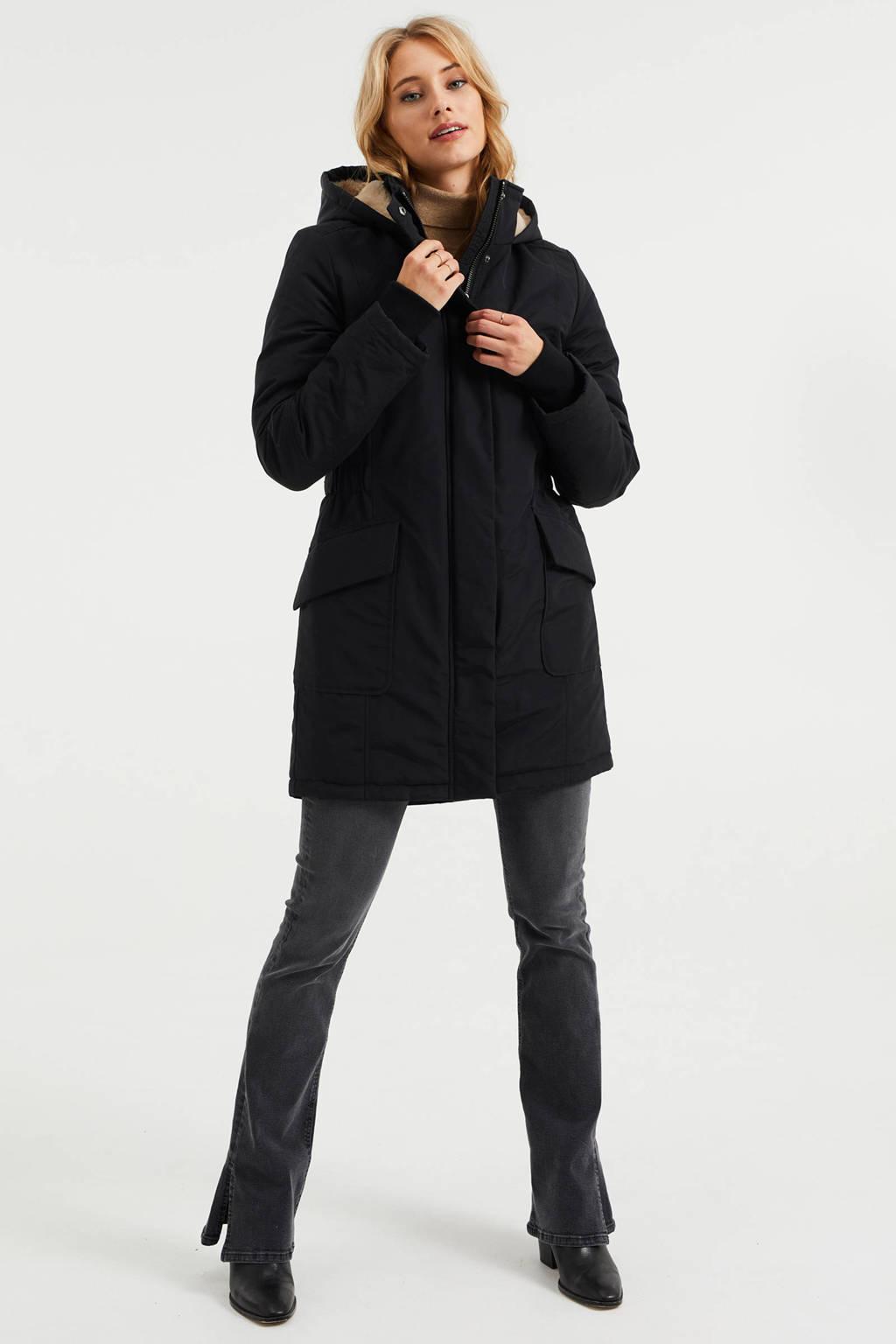 WE Fashion jas zwart, Zwart
