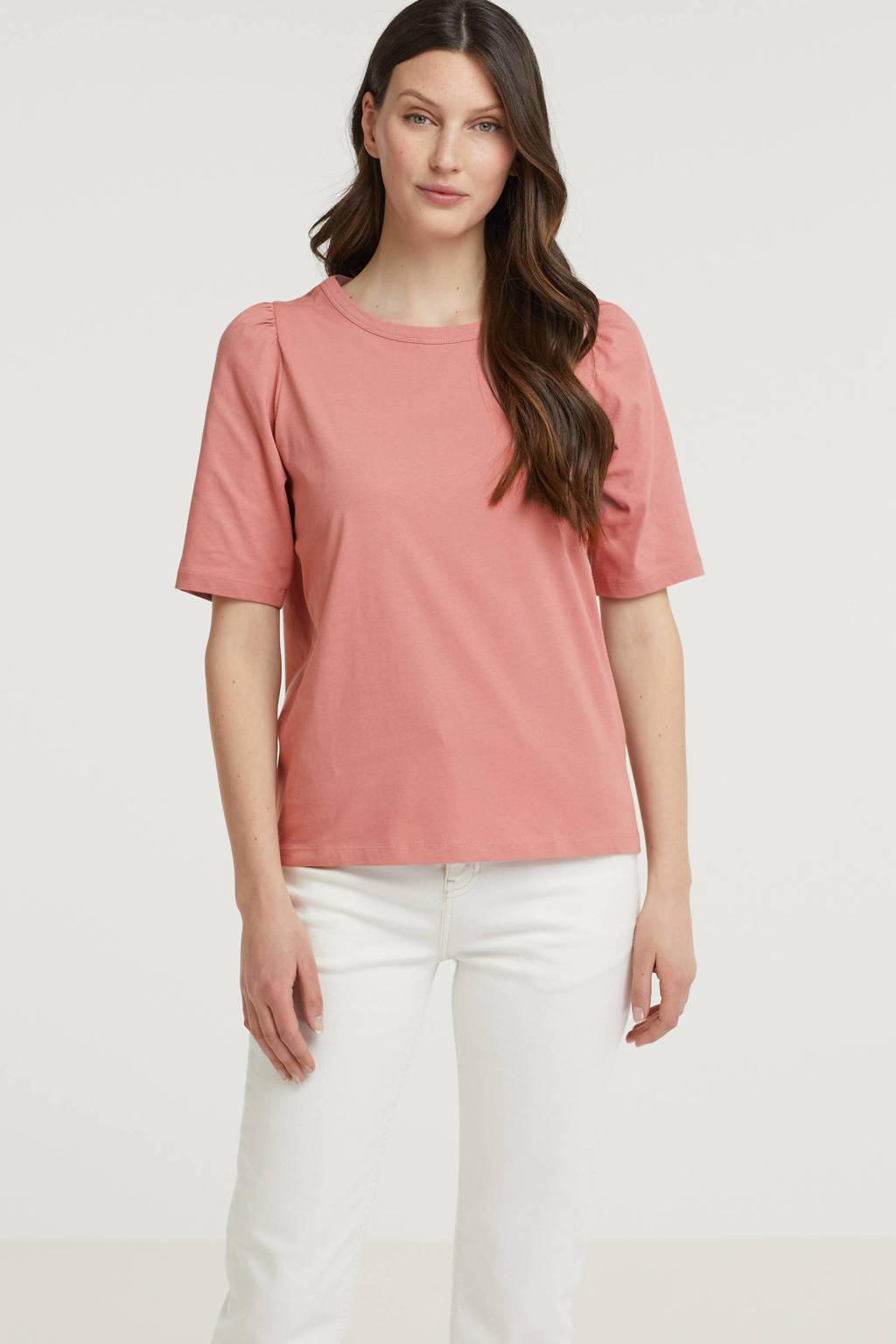MSCH Copenhagen basic T-shirt Mo Alva oudroze, Oudroze