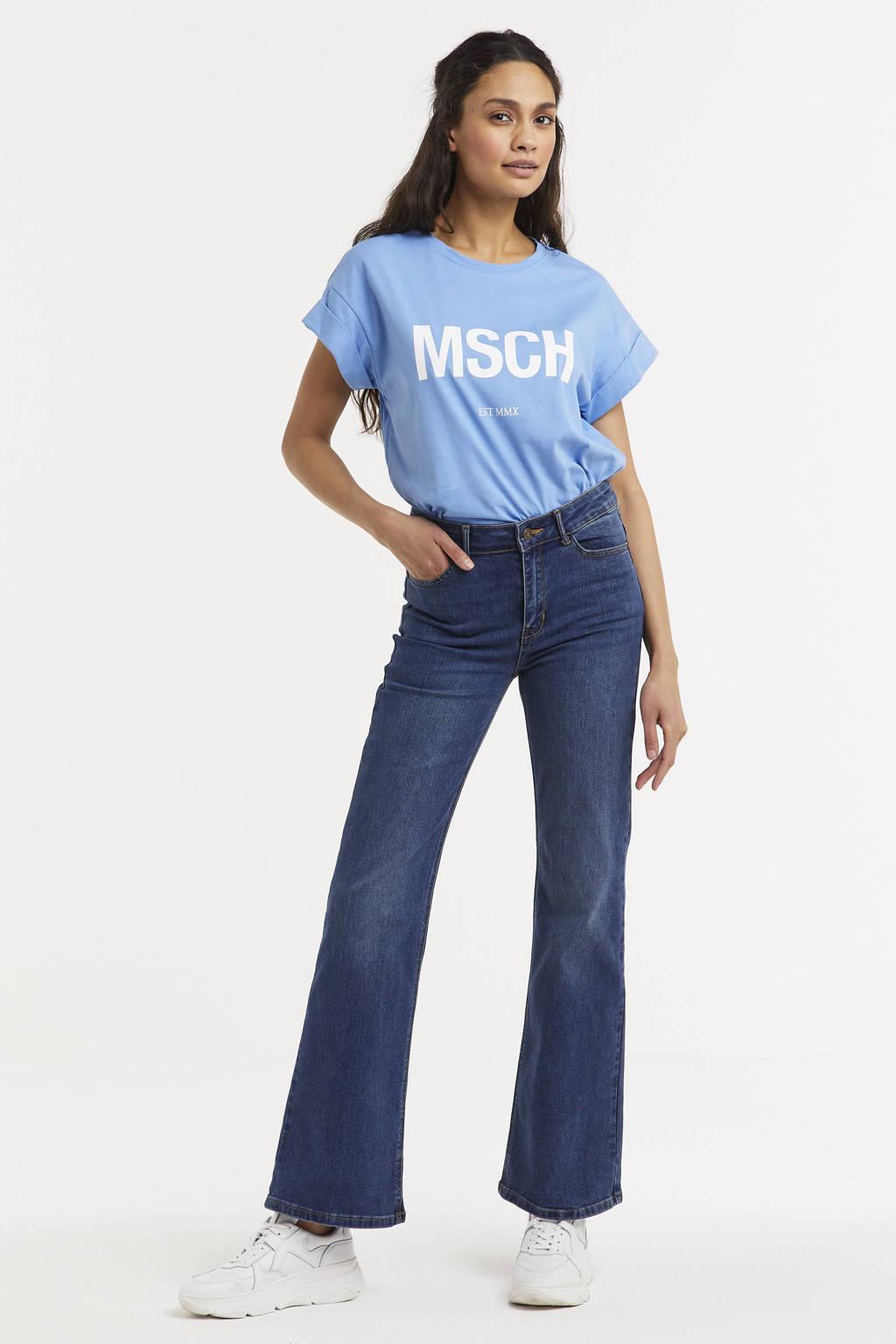 Yest flared jeans Gynne dark denim stonewashed, Dark denim stonewashed