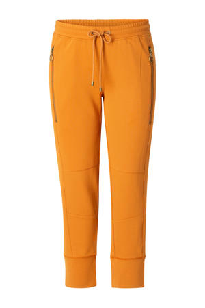 slim fit joggingbroek Ghislaine oranje
