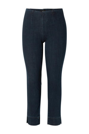 high waist slim fit tregging Giove dark denim