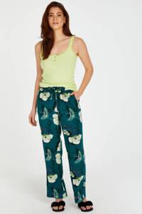 Hunkemöller pyjamatop geel, Geel