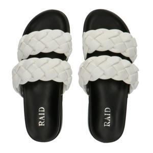 Flinch  plateau slippers wit