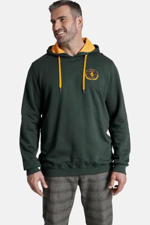 hoodie EARL TODD Plus Size groen