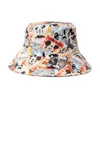 Desigual Mickey Mouse bucket hat multi, Ecru/multi