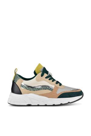 Carocel  chunky sneakers beige/multi