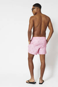 America Today zwemshort Arizona met all over print roze, Roze
