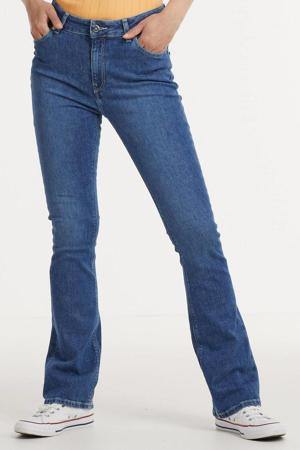 high waist flared jeans Flared Hazen authentic indigo