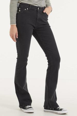 high waist flared jeans Flared Hazen stone black