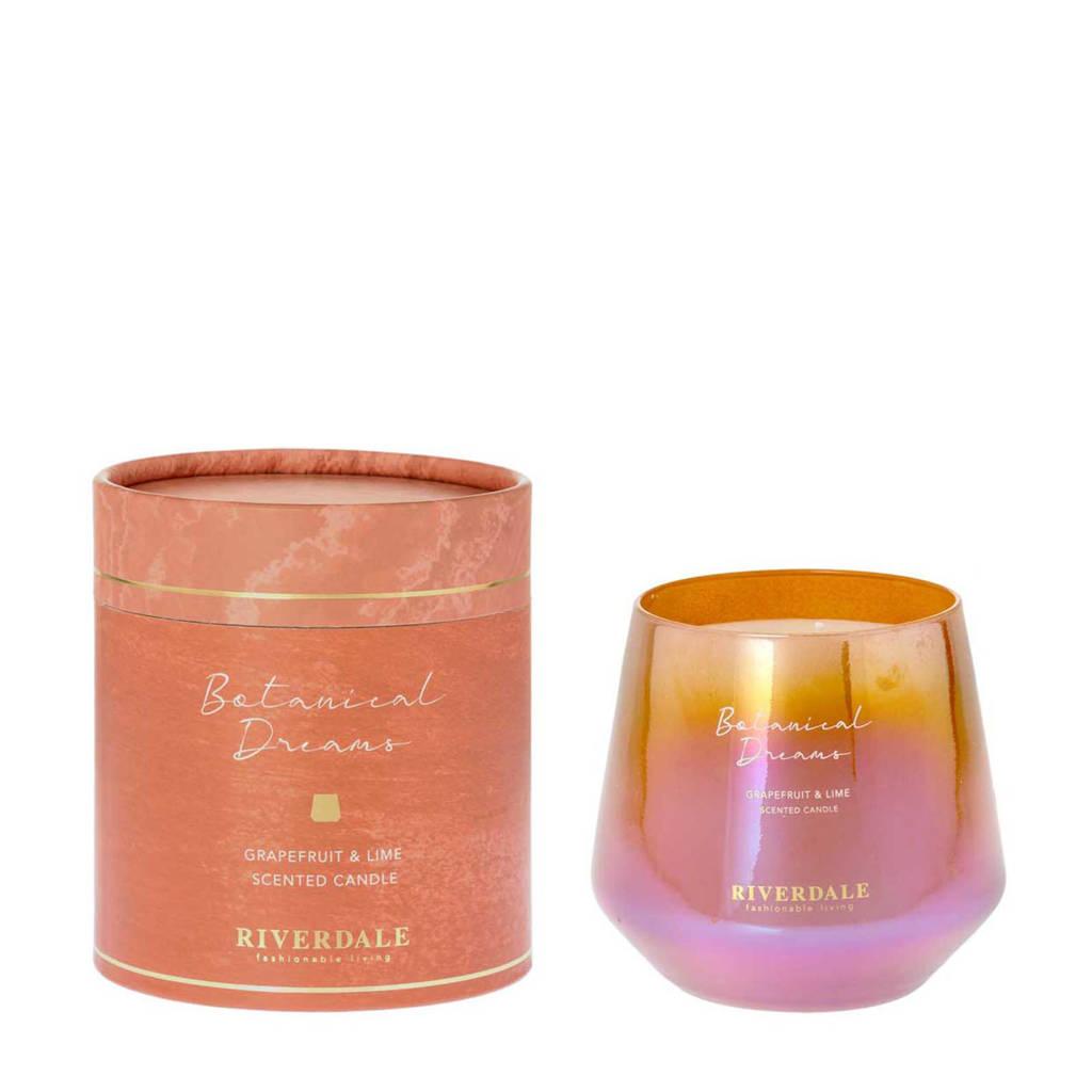 Riverdale geurkaars Mylla - Grapefruit & Lime, Oranje