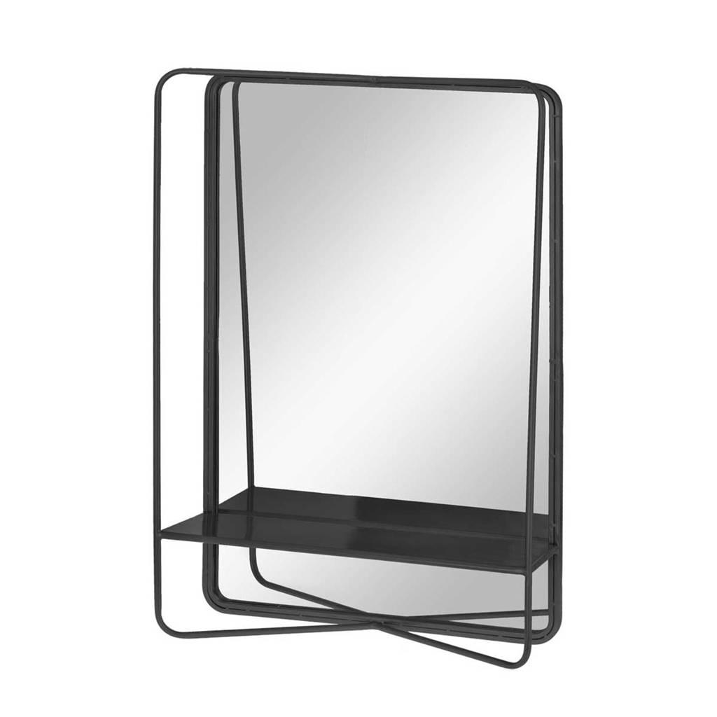 Riverdale spiegel Elwin   (71x46 cm), Zwart