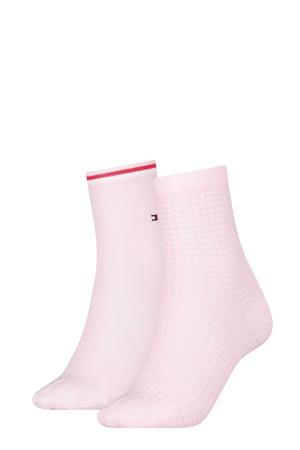 sokken lichtroze (set van 2)