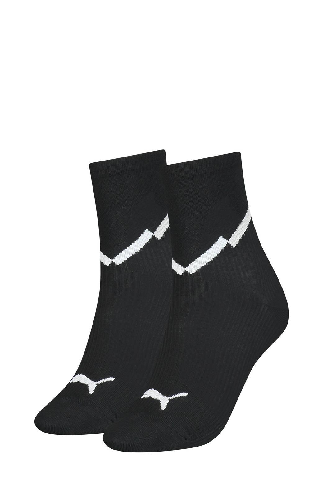 Puma sokken - set van 2 zwart, Zwart