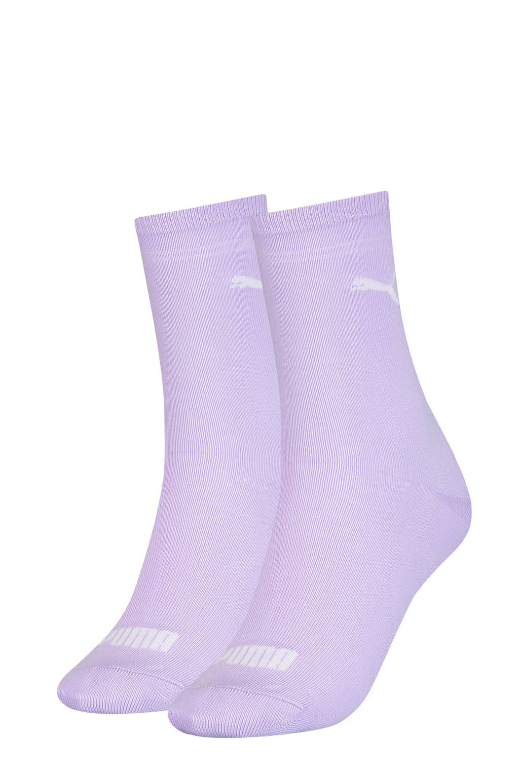 Puma sokken - set van 2 lila, Lila