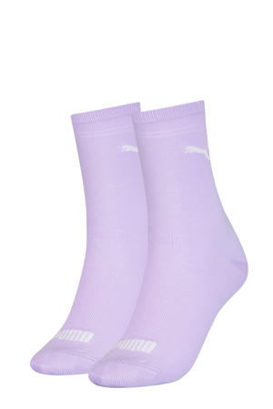 sokken - set van 2 lila