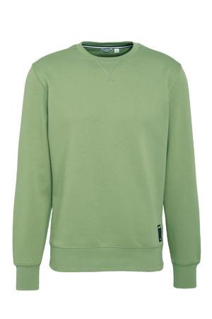 sportsweater groen