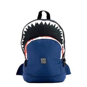 Shark Shape rugzak M donkerblauw