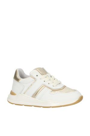 P1769  leren sneakers wit
