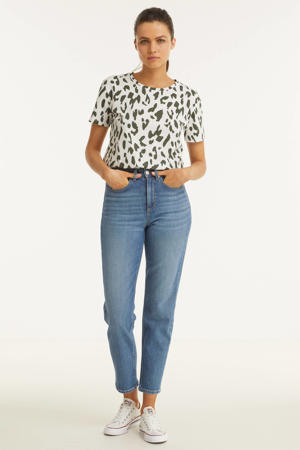 mom jeans high waist blauw