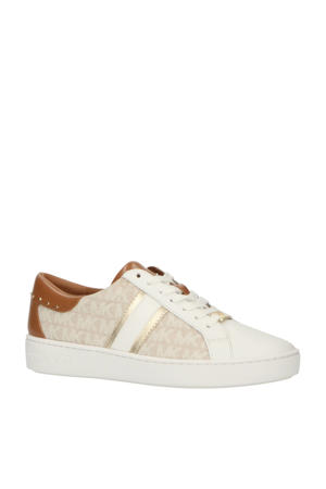 Keaton Strip  leren sneakers wit/multi