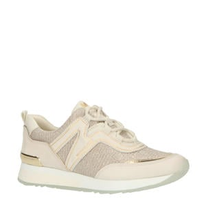 Pippin Trainer  leren sneakers champagne