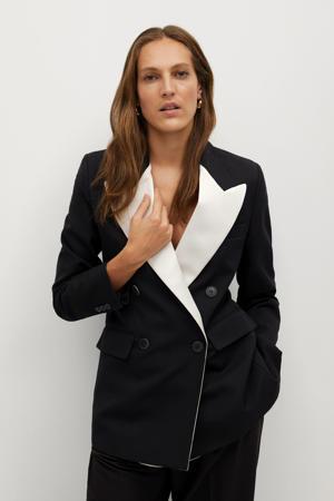 blazer zwart/wit
