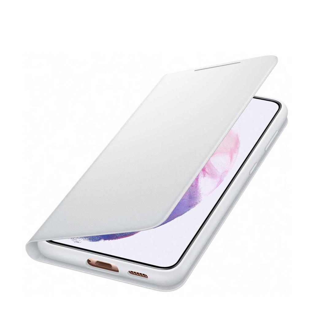 Samsung S21+ SMART LED V telefoonhoesje (Phantom Gray), Grijs