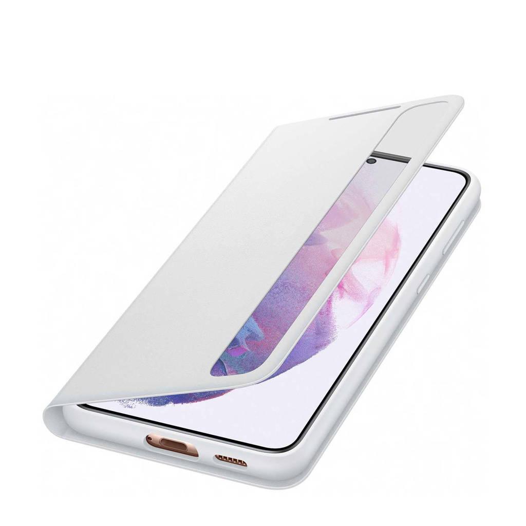 Samsung  telefoonhoesje S21+ Smart Clear View (Phantom Gray), Grijs