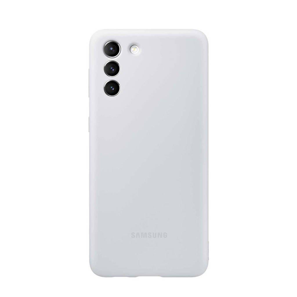 Samsung  telefoonhoesje S21+ Silicone (Phantom Gray), Grijs