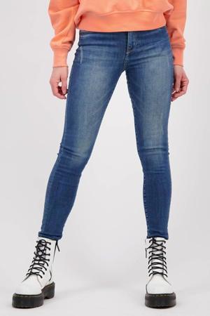 high waist super skinny jeans Blossom mid blue stone