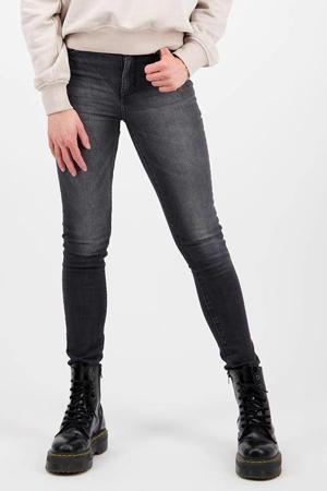 high waist super skinny jeans Blossom dark grey stone