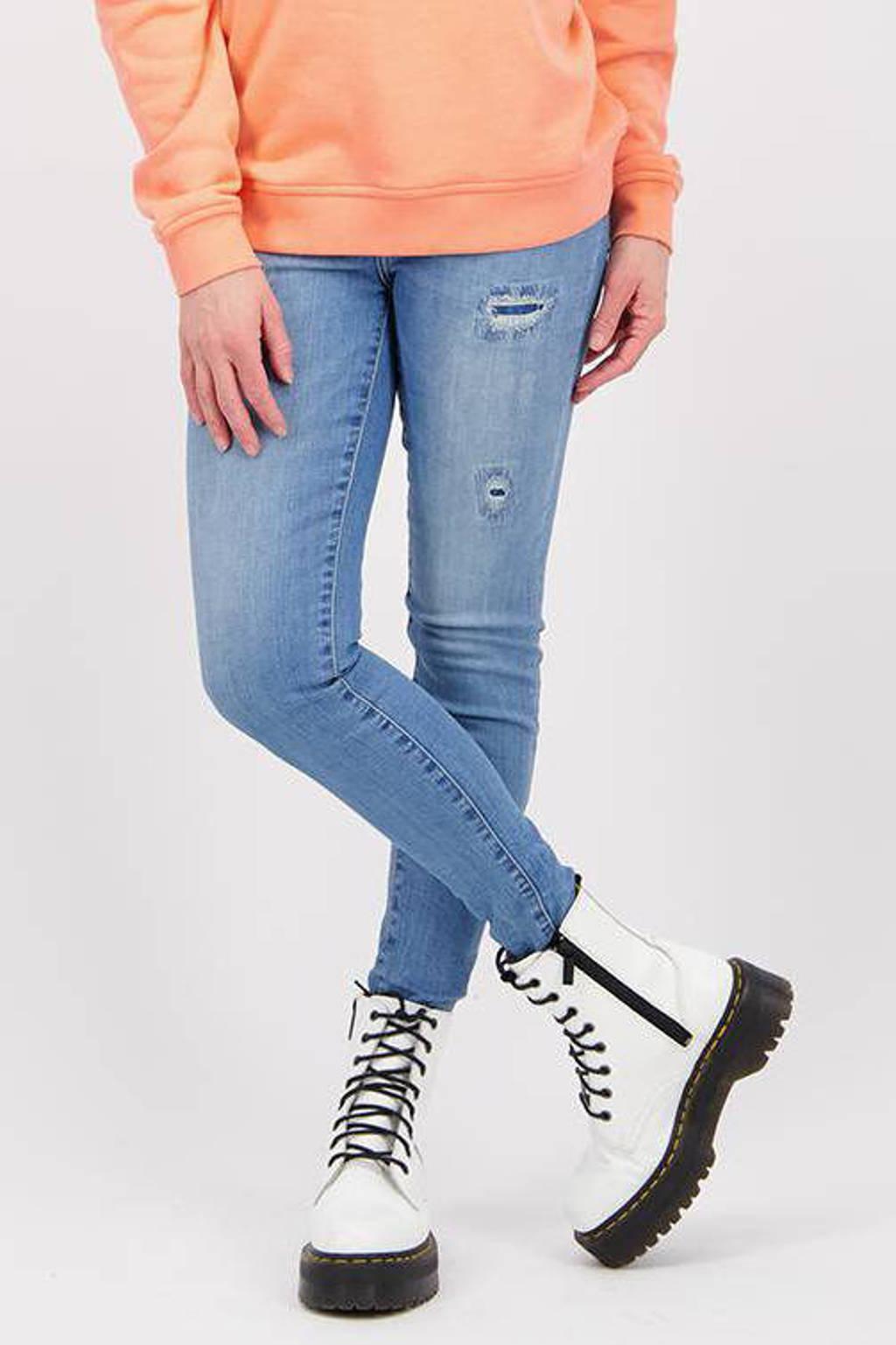Raizzed high waist super skinny jeans Blossom vintage blue, Vintage blue