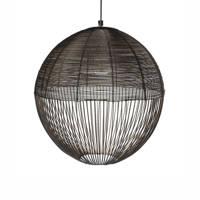 Riverdale hanglamp Ise, Zwart