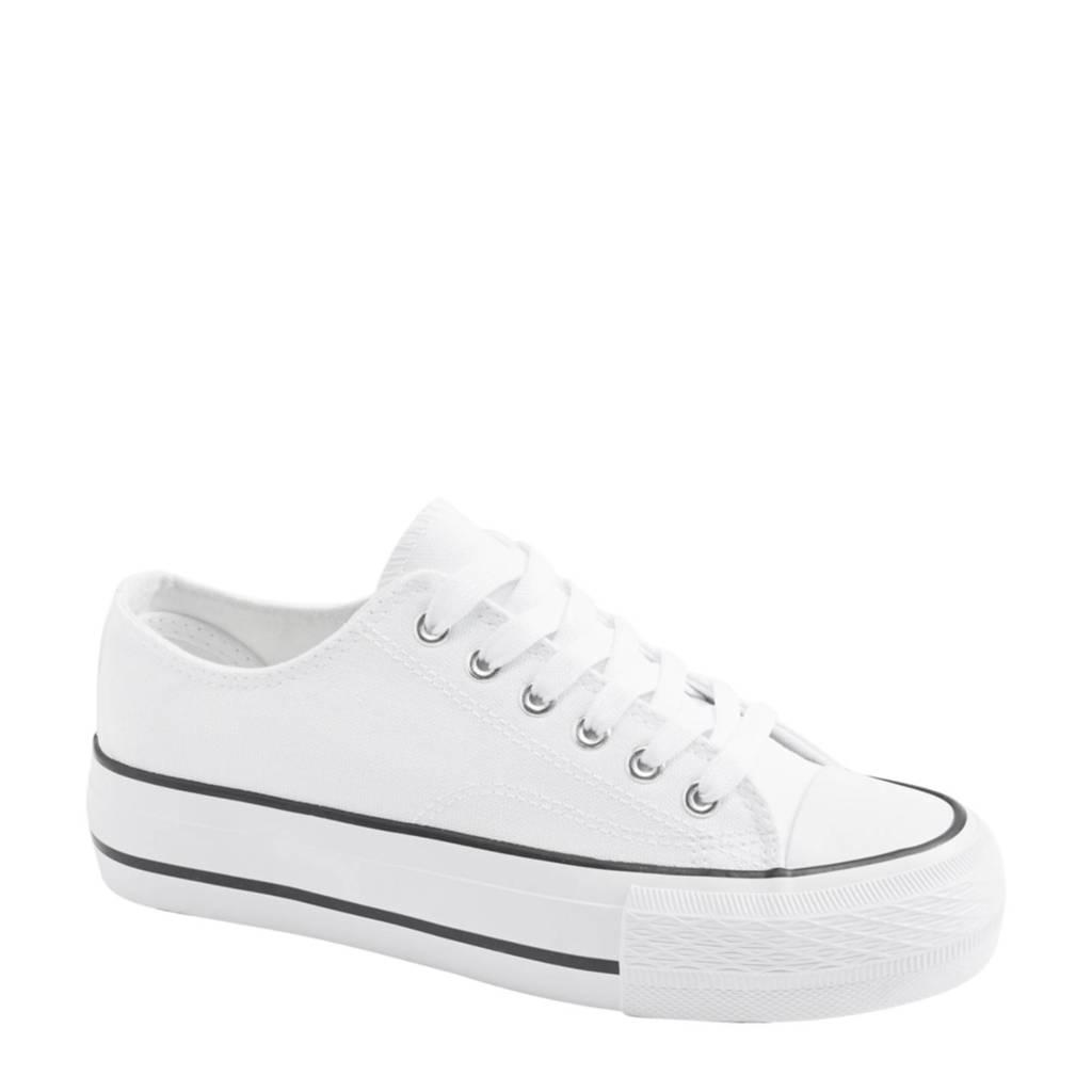 Graceland   plateau sneakers wit, Wit