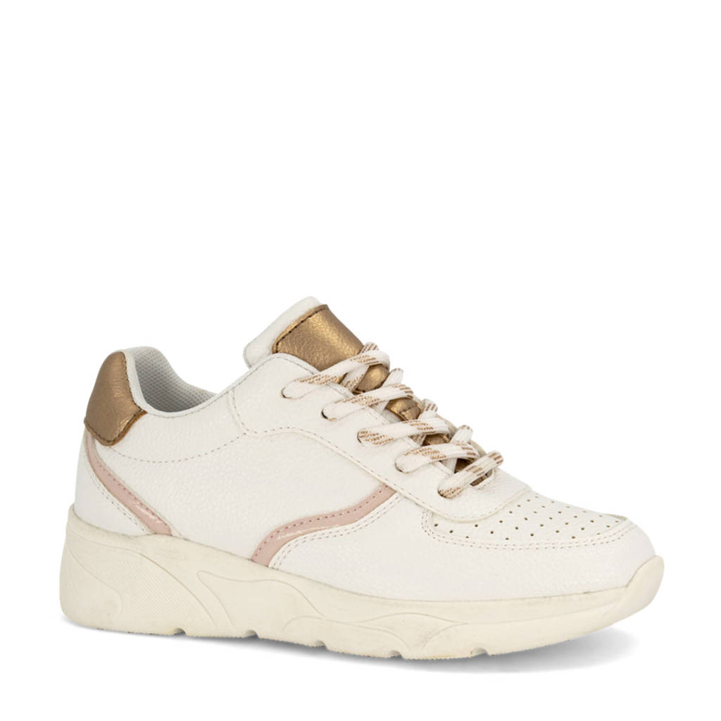 Graceland   sneakers wit, Wit/Brons/Roze